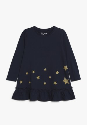 DRESS STAR - Jerseykjoler - blau