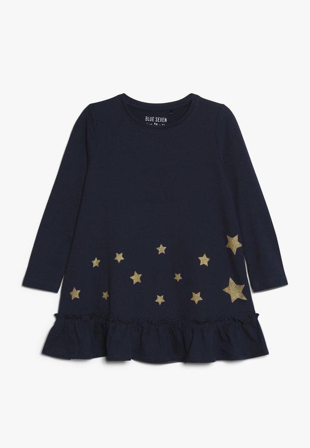 DRESS STAR - Jerseykleid - blau
