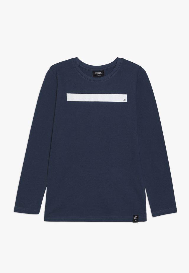 ARCHER - Top sdlouhým rukávem - cooper blue