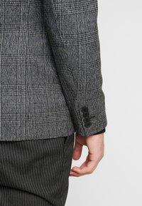 Esprit Collection - CHECK BLAZER - Blazer jacket - dark grey - 3