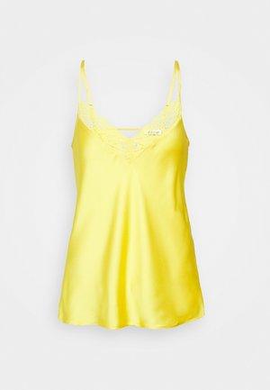 Pyjamashirt - jaune vif