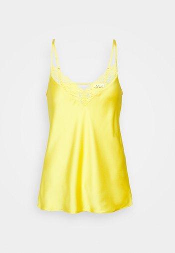 Pyjama top - jaune vif