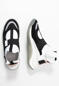 Sportmax - ZOE - High-top trainers - rosa/bianco/nero - 3