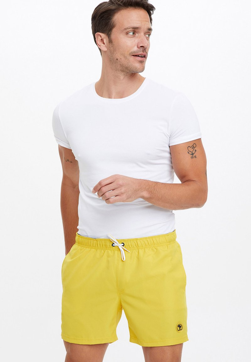 DeFacto - Swimming shorts - yellow
