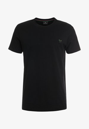 SLIM FIT - T-shirts - black