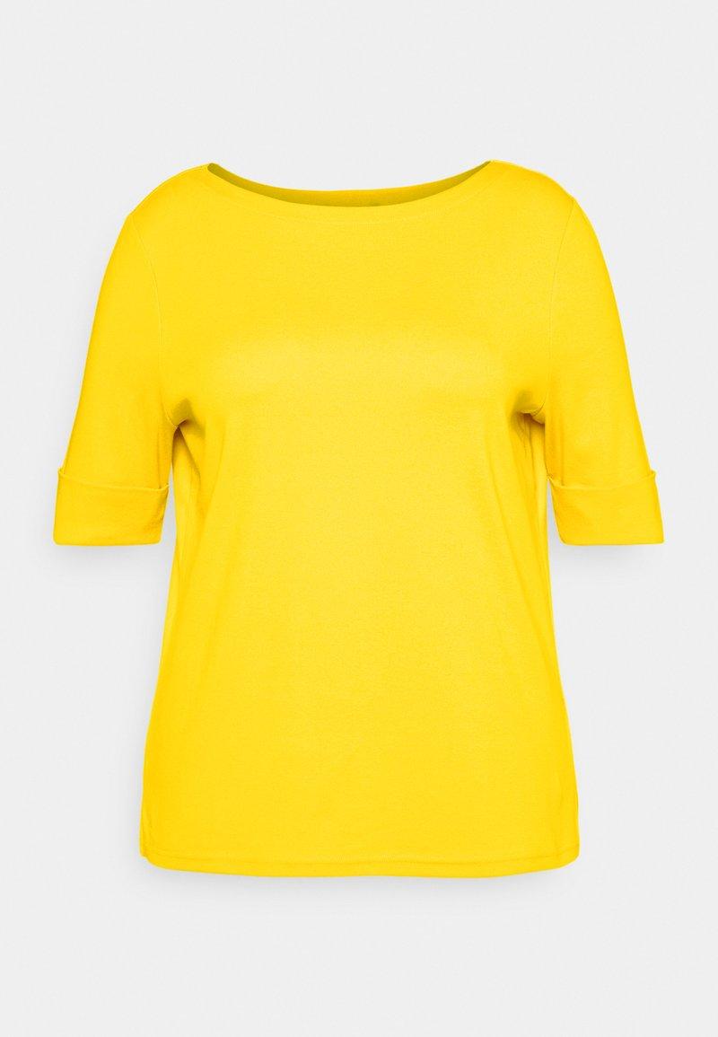 Lauren Ralph Lauren Woman - JUDY ELBOW SLEEVE - T-shirt basic - athletic gold