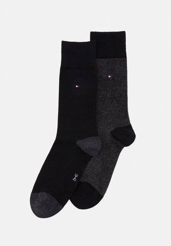 MEN SOCK 2 PACK - Socks - black