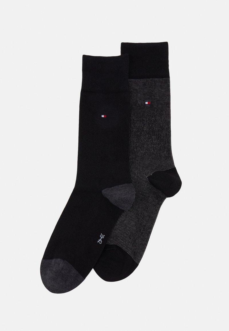 Tommy Hilfiger - MEN SOCK 2 PACK - Socks - black