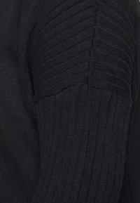 Dorothy Perkins Curve - LONGLINE CARDIGAN - Cardigan - black - 5