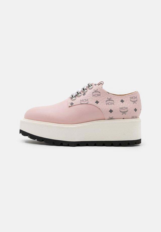 Snøresko - new soft pink