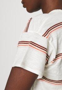 Madewell - SORREL WHISPER CREWNECK TEE IN SCAR STRIPE - Print T-shirt - lighthouse - 4