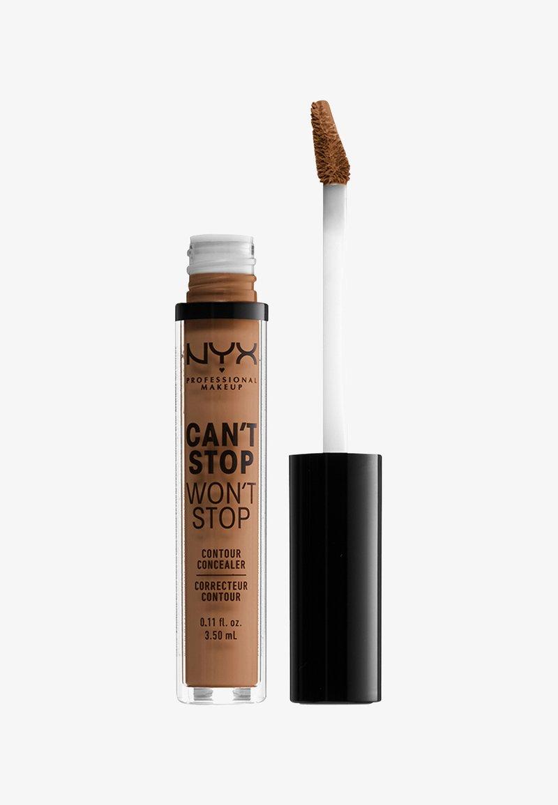 Nyx Professional Makeup - CSWS CONTOUR CONCEALER - Concealer - 16 mahogany