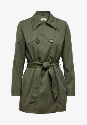 ONLVALERIE  - Trenchcoat - dark green