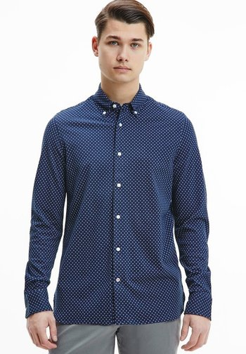 GEO - Shirt - carbon navy/multi