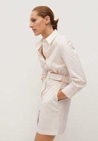 Mango - MEXI - Shirt dress - beige - 1