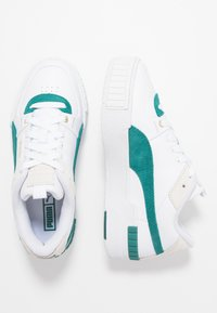 Puma - CALI SPORT HERITAGE  - Trainers - white/teal green - 3