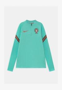 Nike Performance - PORTUGAL UNISEX - Oblečení národního týmu - mint/sport red - 0