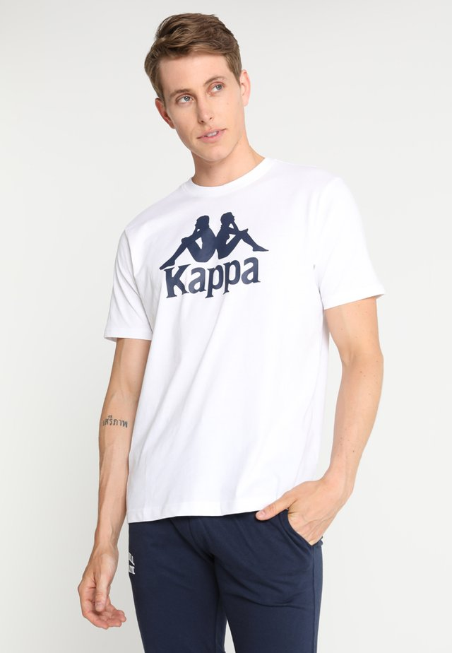 CASPAR - T-shirt con stampa - white