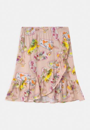 BRADIE - Wrap skirt - pink