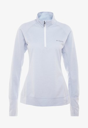 IRICO HALF ZIP - Long sleeved top - white/cirrus grey