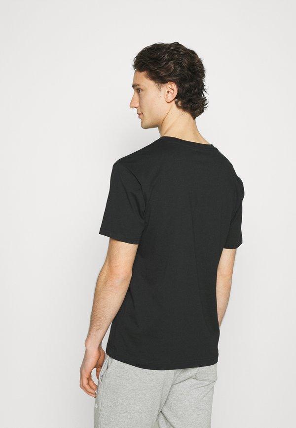 New Balance ESSENTIALS TEE - T-shirt basic - black/czarny Odzież Męska CNPA