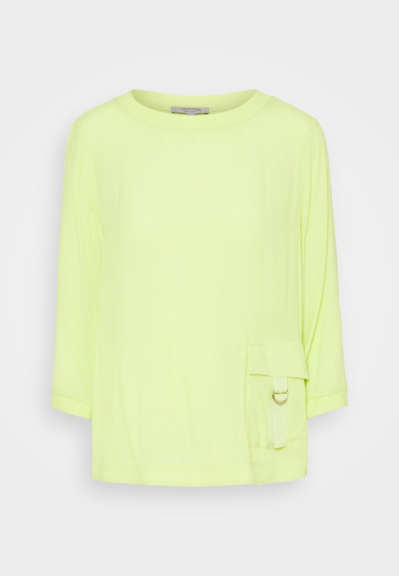 comma casual identity - 3/4 ARM - Blouse - lime
