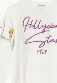 Patrizia Pepe - ABITO FELPA HOLLIWOOD STAR - Day dress - bianco - 3