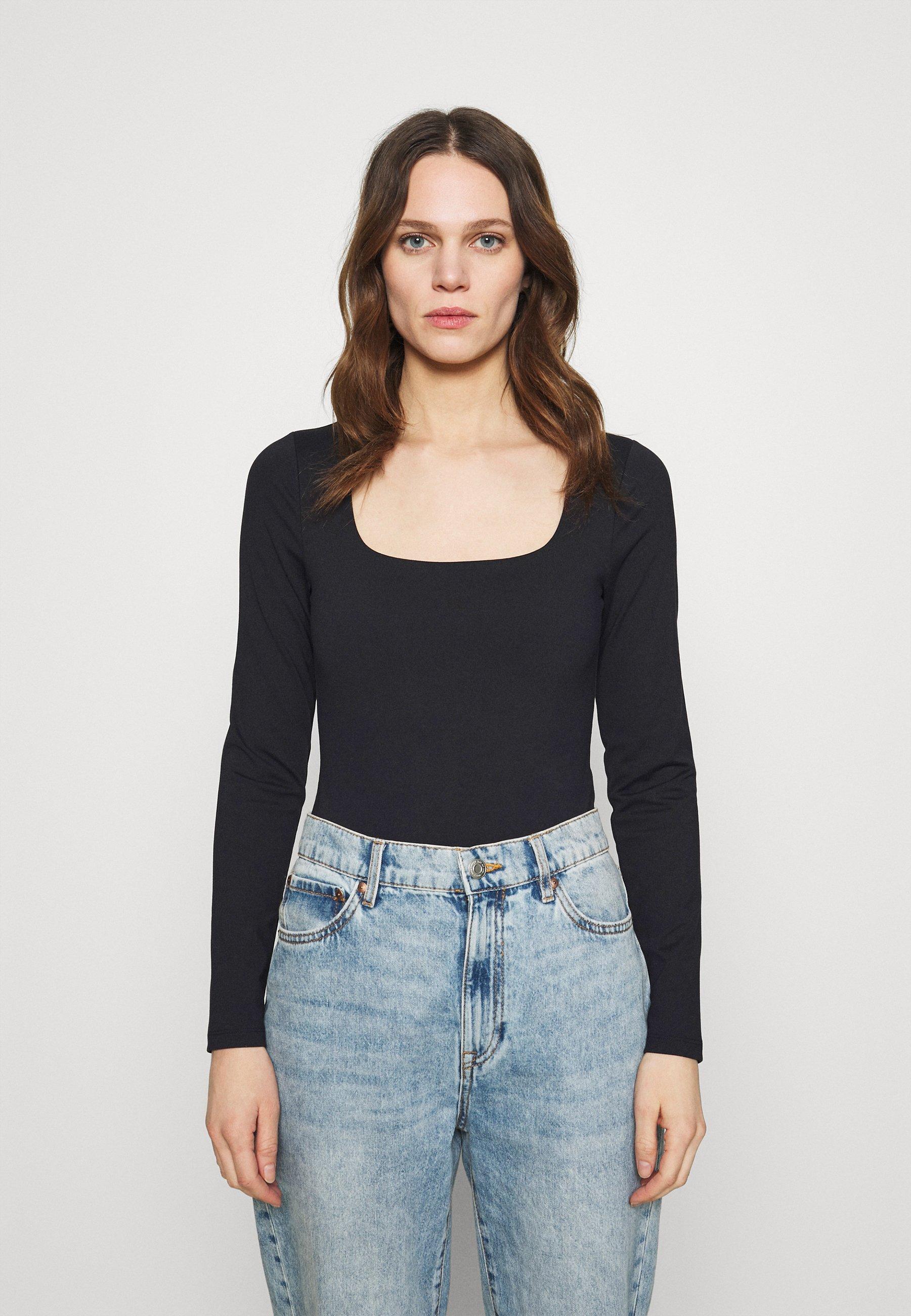 Women SEAMLESS BODYSUIT - Long sleeved top