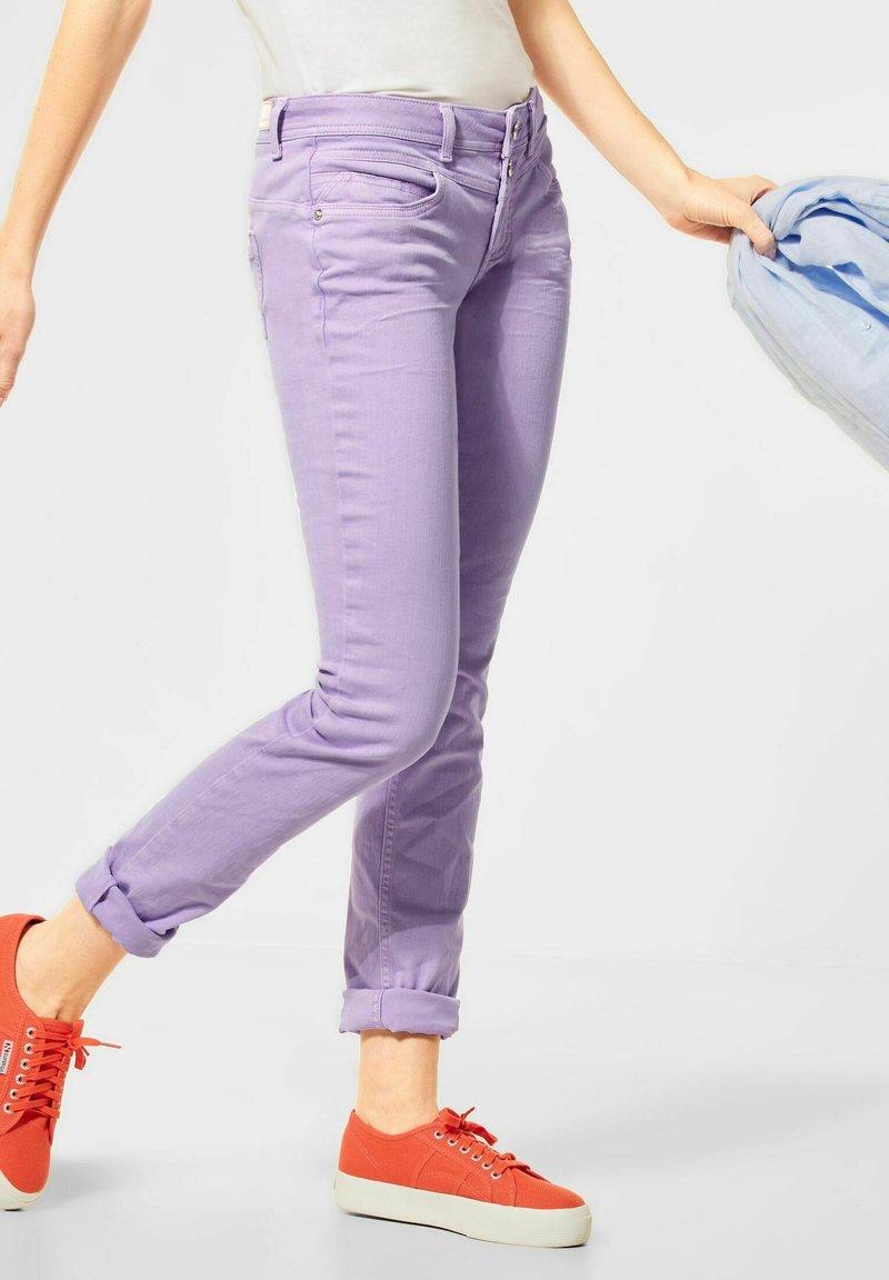 Street One - Trousers - lila