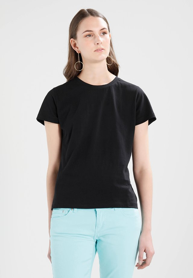 SOLLY TEE SOLID - Basic T-shirt - black