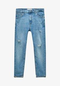 PULL&BEAR - Jeans slim fit - light blue - 7