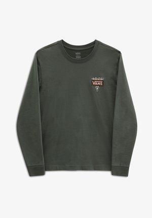 WM FIRST STITCHES - Långärmad tröja - thyme