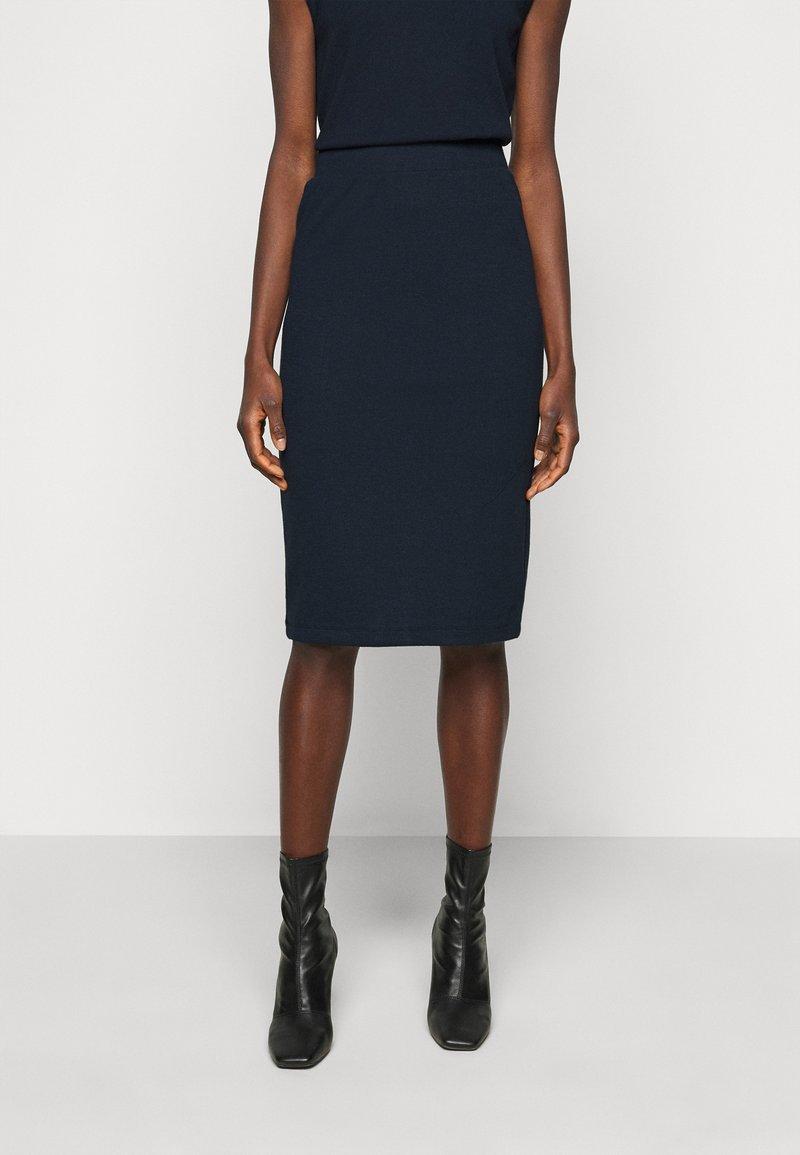 Object Tall - SKIRT - Pencil skirt - sky captain