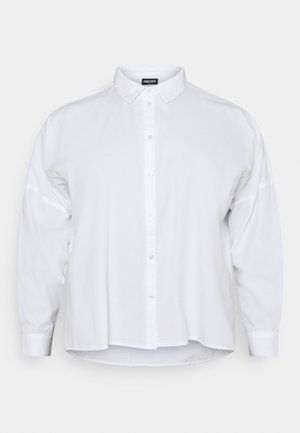 PCREMEY  - Button-down blouse - bright white