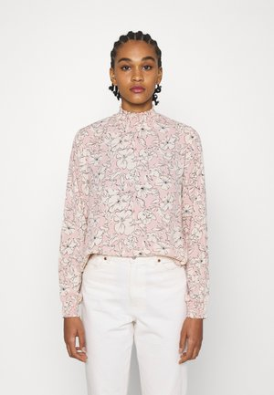 VIDOTTIES NEW SMOCK - Langarmshirt - misty rose/white