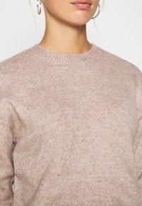 New Look - CROP - Sweter - mid pink - 5