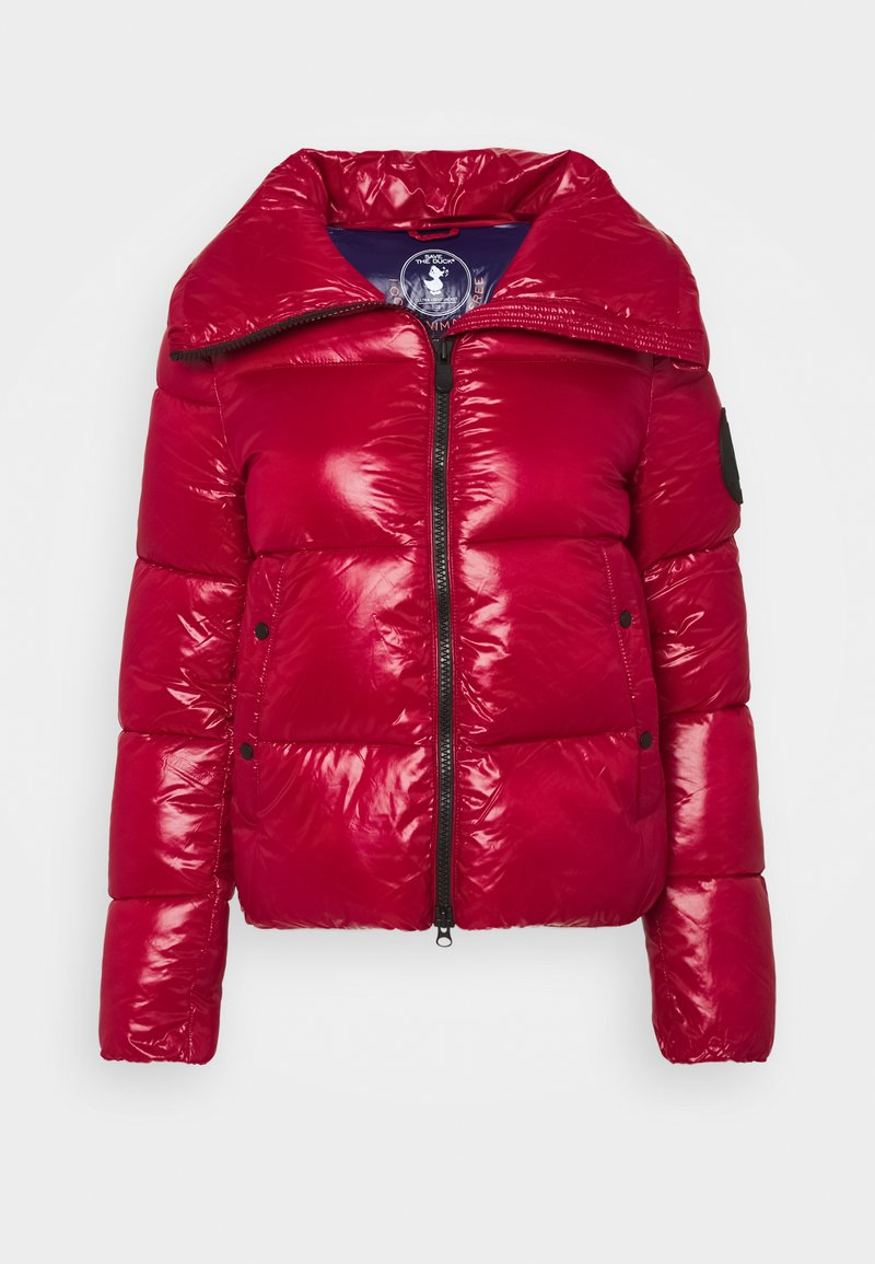 Save the duck - LUCKY - Winter jacket - ruby red