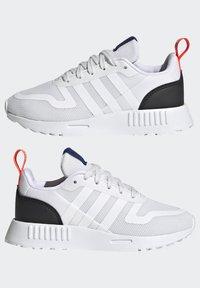 adidas Originals - MULTIX UNISEX - Zapatillas - crystal white/footwear white/core black - 7