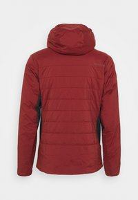 Black Diamond - FIRST LIGHT STRETCH HOODY - Zimní bunda - dark crimson/black - 1