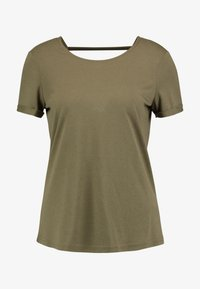 TOM TAILOR - T-shirts print - dry greyish olive - 3