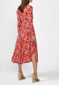 Sandwich - Shirt dress - rot - 2