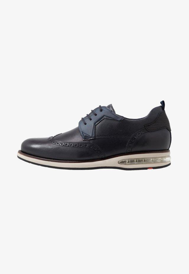 AVERELL - Zapatos con cordones - ocean/schwarz