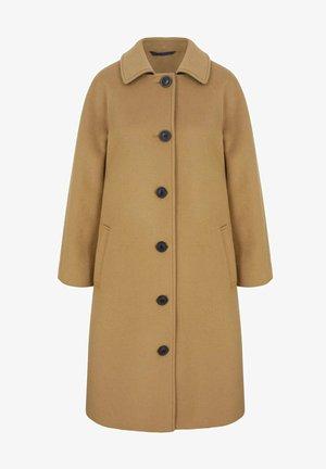 Classic coat - kamelbraun