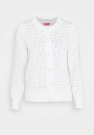 TEXTURED  - Strickjacke - fresh white