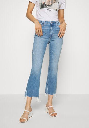 THE HONEY CROP DESTROYED - Bootcut jeans - nettle