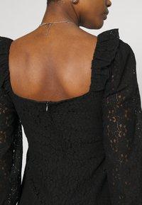 Fashion Union - DRESS - Cocktail dress / Party dress - black - 5