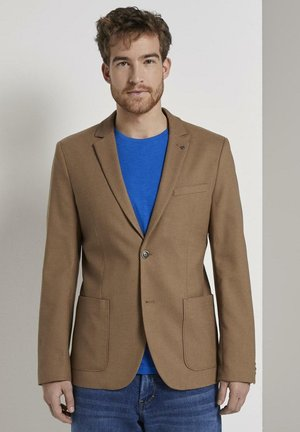 CASUAL STRUCTURE - Suit jacket - brown