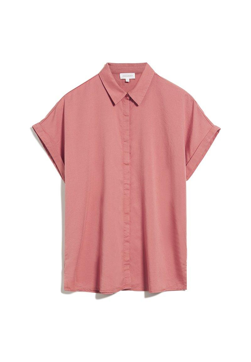 ARMEDANGELS - Button-down blouse - cinnamon rose