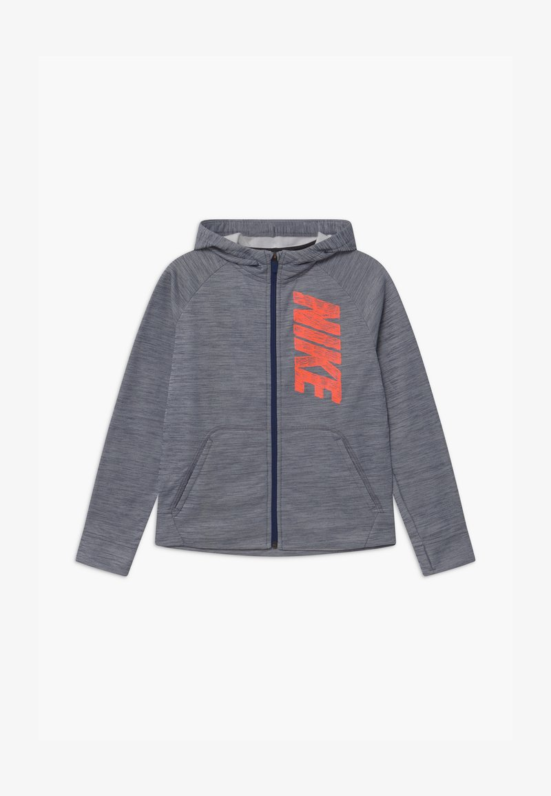 Nike Performance - THERMA HOODIE - Training jacket - midnight navy