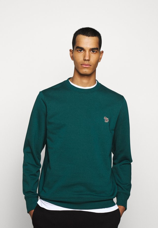 MENS REG FIT - Collegepaita - dark green